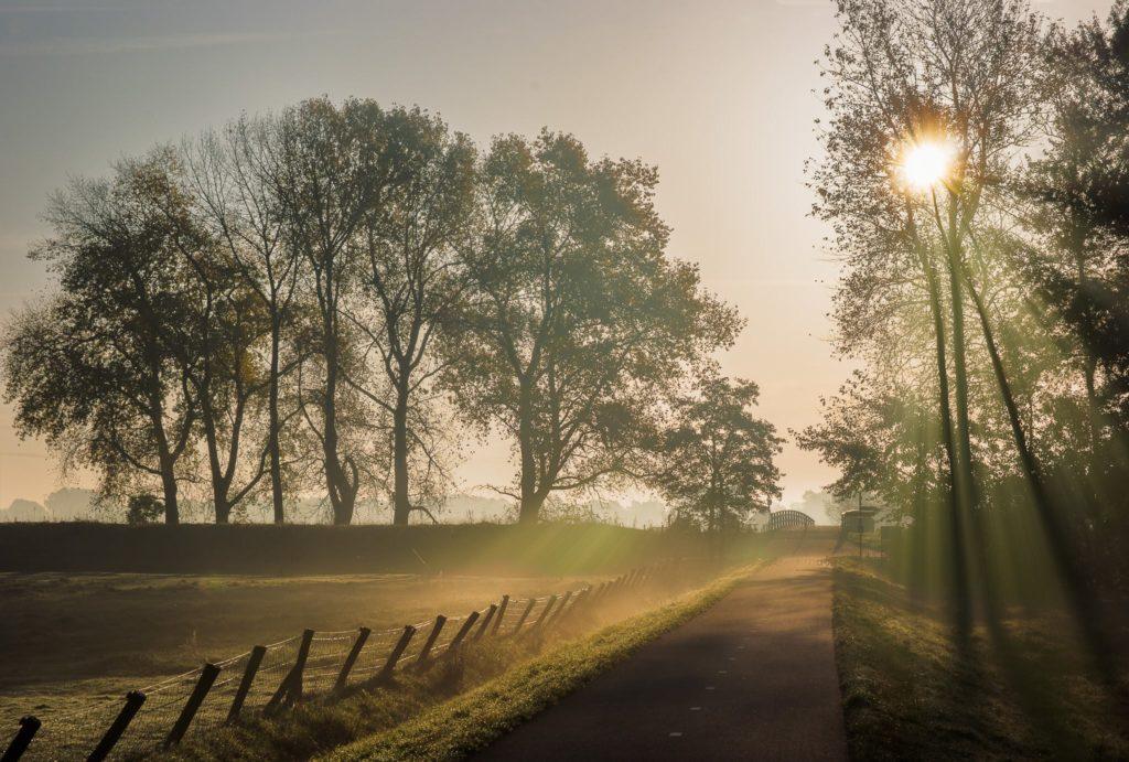 Landschapsfotografie - zonsopkomst bij Hoogvliet