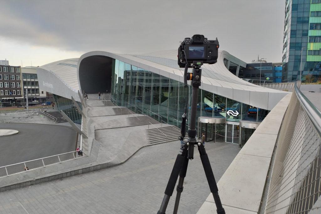Behind the scenes foto van Arnhem Centraal